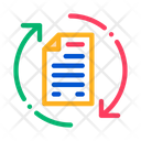 Document Cycle Contract Icon