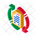 Document Web Cycle Icon