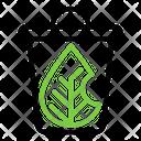 Trash Recycle Leaf Icon