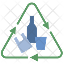 Garbage Recycle Renew Icon