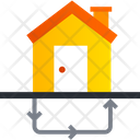 Recycle House Icon
