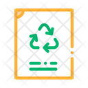 Recycle Label Icon