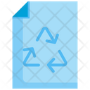 Paper Recycle Renewable Icon