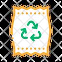 Plastic Parcel Bag Icon