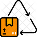 Recycle Parcel Package Logistics Icon