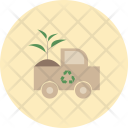 Recycle Plant Truck Icon