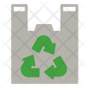 Plastic Bag Recycling Icon