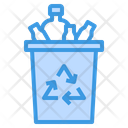 Recycle Plastic Waste Icon