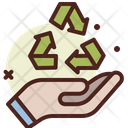 Recycle Process Recycle Recycling Icon