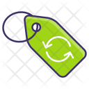 Recycle Reuse Tag Icon