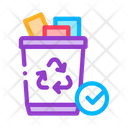 Trash Set Web Icon