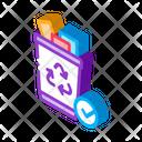 Trash Web Sketch Icon