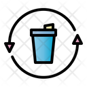 Recycle Trash Recycle Clean Icon