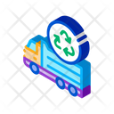 Environmental Truck Recycle Icon