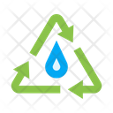 Water Circulation Water Cycle Icon