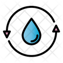 Recycle Water Recycling Water Icon