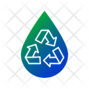 Recycle Water Water Drop Water Icon