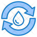 Recycle Water Icon