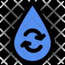 Droplet Aqua Rain Icon