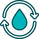 Recycle Water Recycle Water Icon
