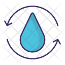 Recycle Water Wastewater Icon