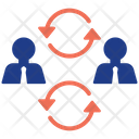 Recycle Work Leader Management Icon