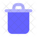 Recyclebin Garbage Can Delete Icon