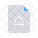 Recycled Paper Icon