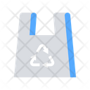 Recycled Plastic Garbage Icon