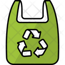 Recycled Plastic Bag Icon