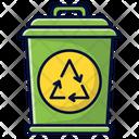 Recycled Trash Recycle Trash Bin Icon