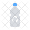 Recycled water bottle Icon