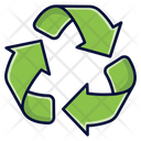 Eco Sign Recycling Recycle Icon