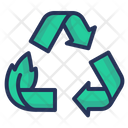 Recycling Waste Sorting Icon