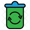 Recycling Sorting Waste Icon