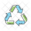 Recycling Zero Waste Icon