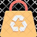 Eco Bag Recycling Icon