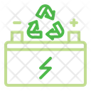 Battery Power Recycling Icon