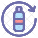 Bottle Water Drink Icon