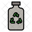 Bottle Water Ecology Icon