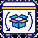 Recycling Cardboard Icon