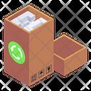 Recycling Carton Box Icon