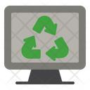 Computer Recycle Ecology Icon