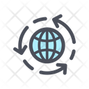 Recycling Earth Icon