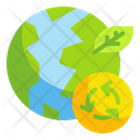 Recycling Environment Recycle Earth Environment World Icon