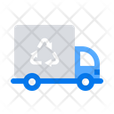 Truck Garbage Recycling Icon