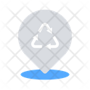 Recycling location Icon