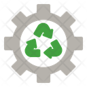 Gear Environment Ecology Icon