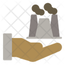 Industry Power Nuclear Icon