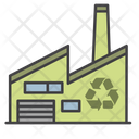 Recycling Plant Industry Plant Icon